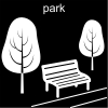 park Pictogram