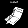 wallet Pictogram