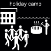 holiday camp Pictogram
