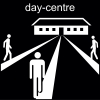 day-centre Pictogram