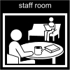 staff room Pictogram