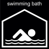 swimming bath Pictogram