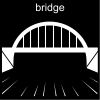 bridge Pictogram