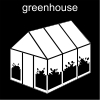 greenhouse Pictogram