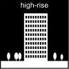 high-rise Pictogram