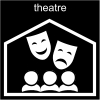 theatre Pictogram