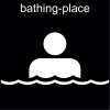 bathing-place Pictogram