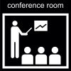conference room Pictogram