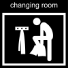 changing room Pictogram