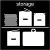 storage Pictogram