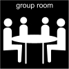 group room Pictogram