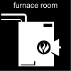 furnace room Pictogram