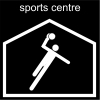 sports centre Pictogram