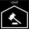 court Pictogram