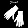 gloves Pictogram