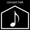concert hall Pictogram