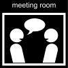 meeting room Pictogram