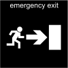 emergency exit Pictogram