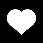 hjärta, Pictogram.