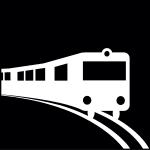 tåg, Pictogram.